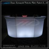 PE Material Rorational Molding Plastic moderno LED Bar Table