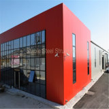 Сборные легких стальных структуры металла супермаркет здание