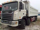 Camion à benne JAC 8X4 avec 30-40 Capacité de chargement