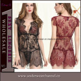 Sexy Lingerie Pijamas femininos Homewear Roupa de dormir Nightclothes Nightwear (22000)