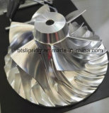 精密自動ステンレス製または合金または鋼鉄またはみょうばんCNCの機械化の回転予備品