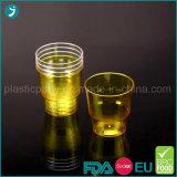 Freier/Kristallfarben-harter Plastik-PS-Wegwerfpartei-Wasser-Cup