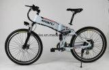 """Bicicleta de montanha de dobramento elétrica assistente do pedal com """"absorber"""" de choque"""