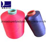 100d / 36f DTY 100% poliéster Filamento Fibra De Fio Dyed