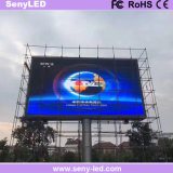 P8 tablilla de anuncios a todo color de LED de la muestra del panel impermeable al aire libre LED para los anuncios video
