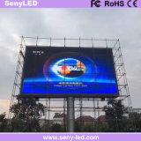 Placa de indicador impermeável ao ar livre do diodo emissor de luz do sinal do diodo emissor de luz da cor cheia do painel P8 para os anúncios video