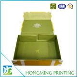 Contenitore di regalo pieghevole stampato abitudine di lusso di colore