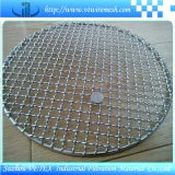 Rete metallica della griglia del barbecue con il rapporto dello SGS