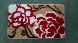 Waschbare Dekoration-rutschfeste büschelige Teppich-Tür-Matte