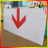 Señal de advertencia de PVC de OEM / Alerta Junta PVC / Tablón de anuncios