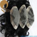 Haar-Stück, Haar-Abwechslung passte alle Arten Toupee der Männer an