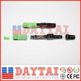 Connettore veloce ottico basso della fibra di perdita Sc/APC di dB dalla fabbrica