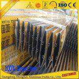 Aluminium verdrängte Profil-hohler Kapitel-Rollen-Blendenverschluss-Aluminium-Strangpresßling