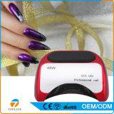 48W UE Plug Profesional LED lámpara de luz uñas secador de clavo de arte con alta calidad