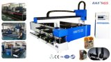 Automatische CNC Laser-Ausschnitt-Maschine für Metallblatt u. -gefäß