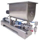 Máquina de embotellado semi automática del bolso de polvo y máquina de etiquetado
