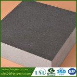 Countertop кухни камня кварца высокой твердости серый