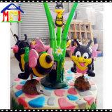 Крытый Carousel спортивной площадки (пчела 3 мест счастливая)