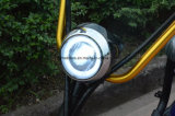 vespa eléctrica de la movilidad 1000W con los choques de F/R, 2 asientos 60V/30ah