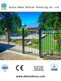 黒色火薬の高品質の上塗を施してあるGalvanziedの庭ゲート