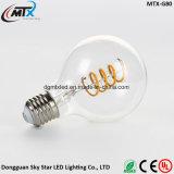 Edison LED 새로운 현대 스테인드 글라스 램프 E27 LED 인공적인 그려진 램프