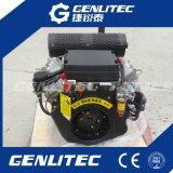 Air refroidi 2 cylindres électriques Démarrage moteur diesel 15HP à 20HP