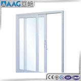 ألومنيوم إطار ضعف زجاج صنع وفقا لطلب الزّبون ينزلق أبواب داخليّ