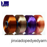 FDY Dope Dyed 500d/192f Filament Polyester Yarn