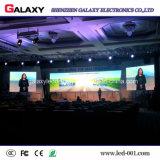 Pared video de interior P2.98/P3.91/P4.81/P5.95 de la visualización de pantalla del alquiler LED para la demostración, etapa, conferencia