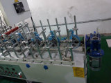 MDF 널 장식적인 300mm 감기 접착성 목공 단면도 감싸는 기계