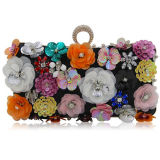 Clucth Bag Rectangle 새로운 핸드백 작풍 다채로운 꽃 숙녀 저녁 당 부대 Eb893