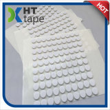 Pet Transparent with White DOT Foam Sponge Double-Sided Tape