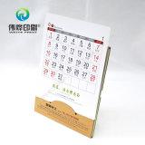 Новый календар стола печатание бумаги Kraft конструкции