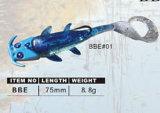 Attrait doux en plastique de pêche