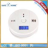 Detector de monóxido de carbono del Co del sensor del Co de la visualización del LCD