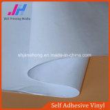 인쇄할 수 있는 차 검정 접착제 자동 접착 비닐