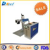 Mini máquina de la marca del laser de la fibra del CNC de 10W 20W para el acero inoxidable, papel, joyería