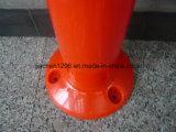 Borne de advertência do PVC do preço razoável 750mm da Elevado-Luminância
