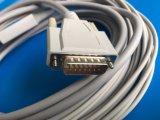 Nihon Kohden 15Контакт IEC DIN3.0 Просто получить актуальную ЭКГ/Кабель ЭКГ
