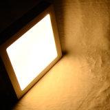 정연한 표면에 의하여 거치되는 LED 위원회 빛