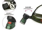 Multi Funktion USB-nachladbare helle Haupttaschenlampe mit Energien-Bank