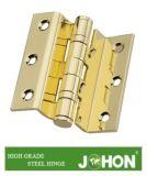 """鋼鉄ハードウェアまたは鉄の不安定なドアの金属のヒンジ(3.5の"""" X3 """"家具のアクセサリ)"""