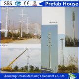 Heißer eingetauchter galvanisierter Röhrenstahlpole für elektrischer Strom-Übertragungs-Verteilung
