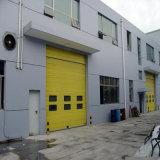 Portes sectionnelles à grande vitesse en acier automatiques de garage