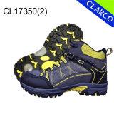 Ботинки безопасности кожаный людей PU напольные Hiking с резиновый подошвой