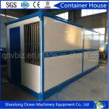 Envase prefabricado plegable de la oficina de la casa del envase de la asamblea rápida de estructura de acero con precio comprable