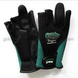 Неопреновые рыболовные перчатки решения (GNFG02-01)