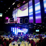 Iluminação de venda quente para eventos, disco do estágio do diodo emissor de luz, campos audiovisuais (equipamento de indicador do diodo emissor de luz)