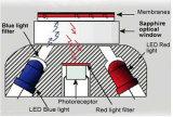 Analizzatore disciolto metodo ottico dell'ossigeno di fluorescenza
