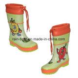 Caricamenti del sistema di pioggia di gomma dei bambini della vernice Colourful naturale della mano